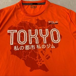 Polo dry fit Tokyo tee shirt. Sz small
